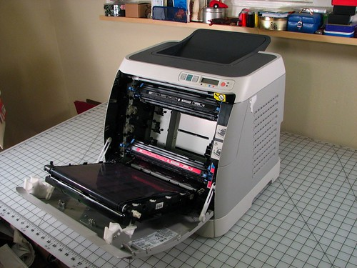 Epic take-apart: HP Color LaserJet 2600n | Evil Mad Scientist