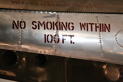 Enola Gay Decal (flegmatical) Tags: museum plane dc washington decal nosmoking airandspace canon70200f4lis