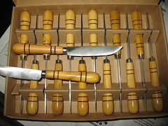 coitelos_knives_couteaux (riorevirado knives) Tags: metal knife galicia knives blacksmith forge lugo woodturning cuchillo buxo boj riotorto forjado coitelo forjar