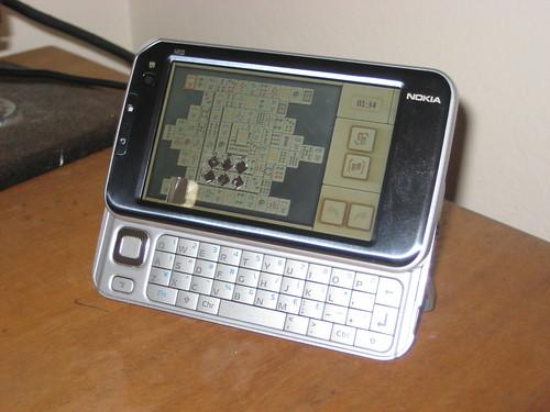 Playing Mahjong on the Nokia N810