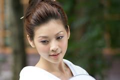 (Ernesto JT) Tags: eve portrait white face japanese model hsinchu taiwan event kimono  catwalk