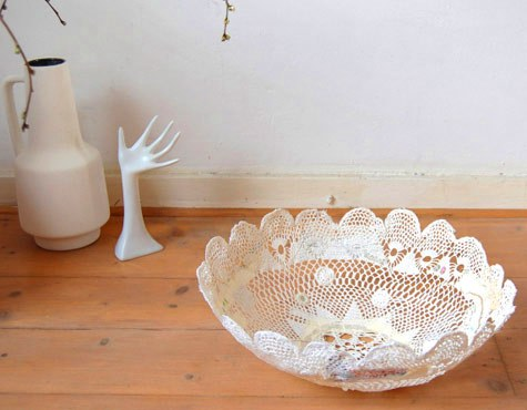 diy project: jane's doily bowl – Design*Sponge