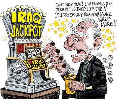 Iraq war addiction