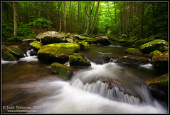 Flow (Judd Patterson) Tags: landscape stream tennessee smooth appalachians stockphotography greatsmokymountainsnationalpark juddpatterson