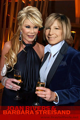 Joan Rivers talks about her lesbian kiss with Barbara Streisand over 50 years ago!