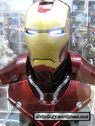 ironman bust