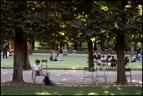 Paris, Jardins du Luxembourg