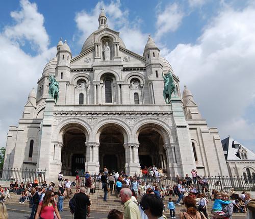 Sacre'-Coeur Basilica, Montmartre
