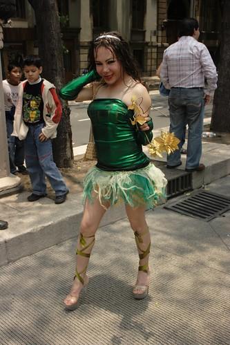 Chica de Verde