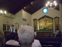 Sunday Service at St. George's Episcopal Church