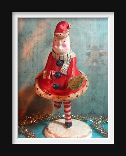 Santa undies skates