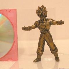 "Super Saiyan Goku ""Burger King Figure"" GOLD (wilbura59) Tags: dragonball dragonballz dragonballgt"