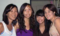 Elen, Traci, Rachel and Carla