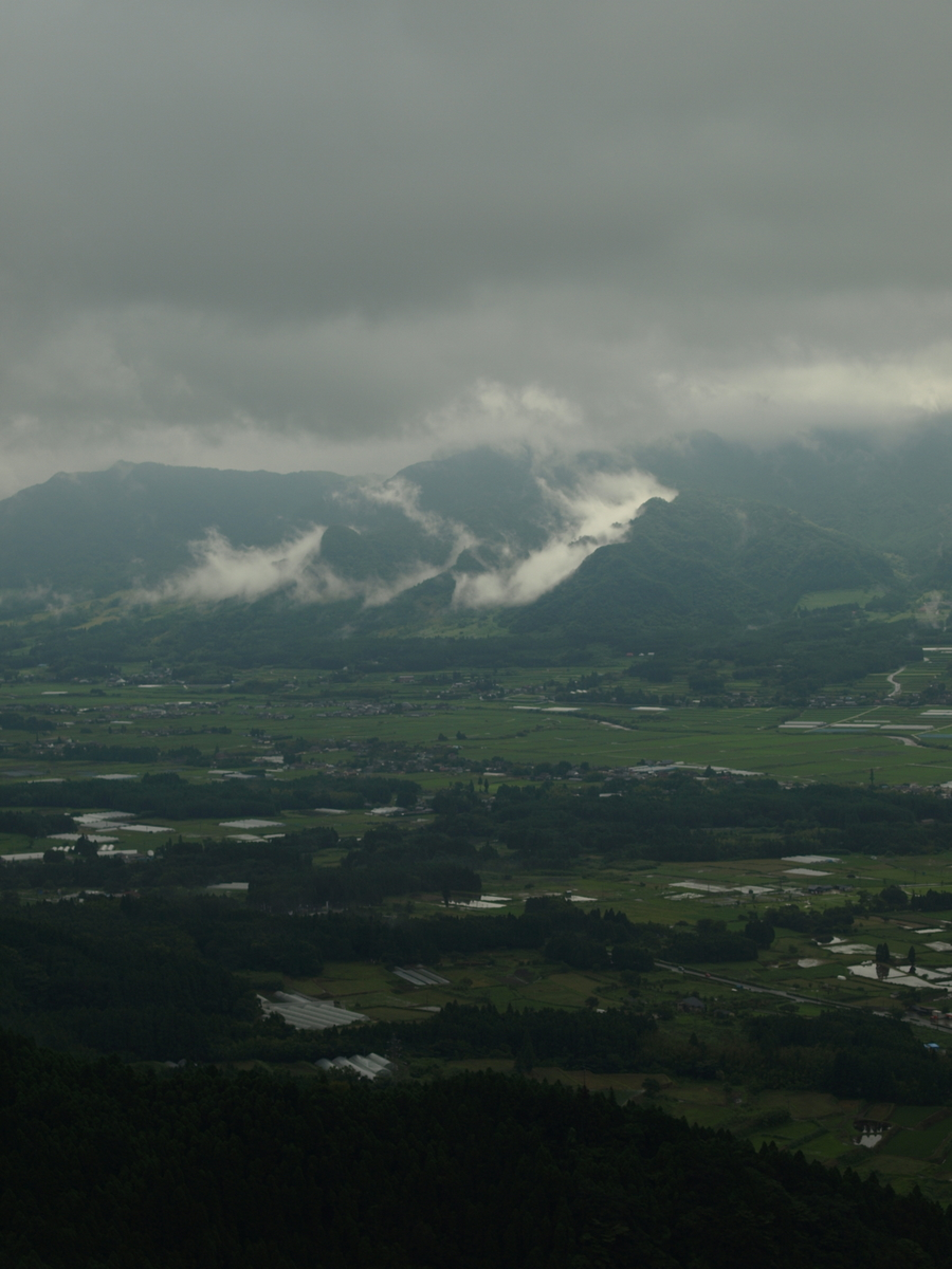 Scenery of Aso caldera