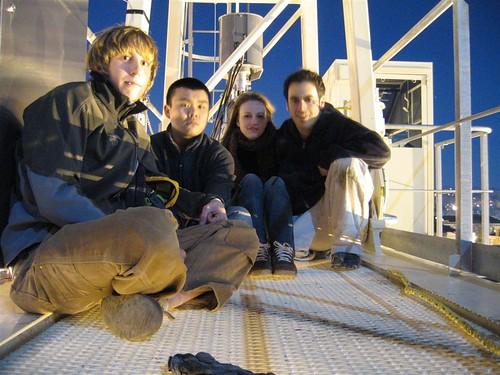 The EMPAC crane crew