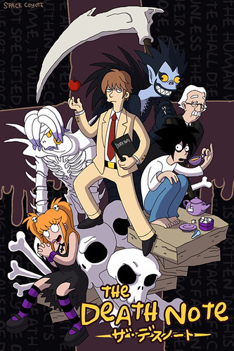 Death Note Simpsonizado