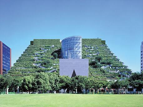 2693071466 bf0ac0eb32 o ACROS Fukuoka   Thats What We Call a Green Roof