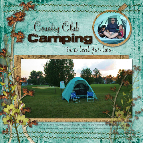 072608 Camping Tent for Two