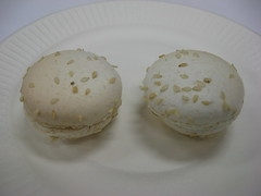 French Culinary Institute: Sesame yuzu macarons