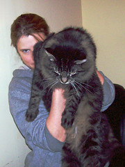 Kid and Cat (Old Top 40 DJ) Tags: cat erica slidr