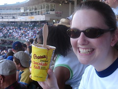 Chicago Cubs July 2008 (sbcthemuse) Tags: food chicago game sports field dessert baseball chocolate cubs wrigley malt