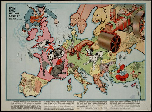 Satirical World War One Maps