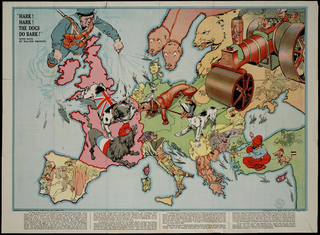 2722416468 1aebcdebb2 b Satirical Maps of Europe