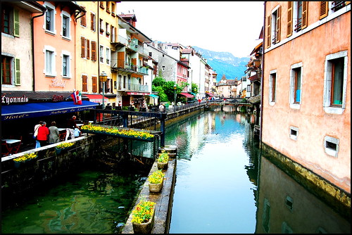Sights in Annecy