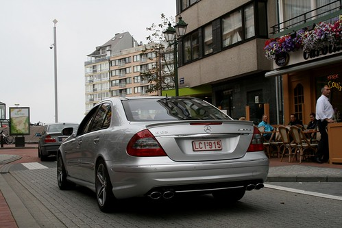 Flickriver: Photoset 'E 63 AMG W211' by Tom Daem
