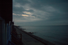 5.08am (lynnepet) Tags: sunrise dawn nikond70 earlymorning beachhut frinton
