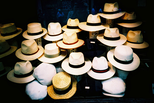 Hat shop, from Flickr user Slimmer_Jimmer