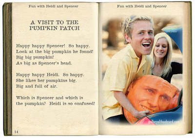 speidi at the pumpkin patch