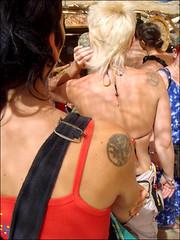 double ink (Joik design) Tags: freeassociation festival tattoo ink boom psytrance shoulder boom2008