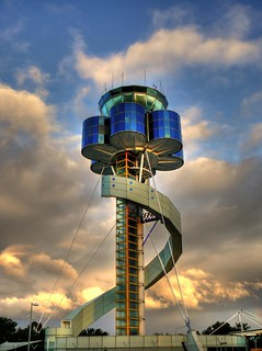 Sydney Airport's control tower