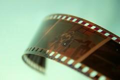 Nostalgia (Sandra_R) Tags: friends light macro film closeup photography slidefilm nostalgia negative curl diapositiva pellicola colorphotoaward littlemisspatriciasactions