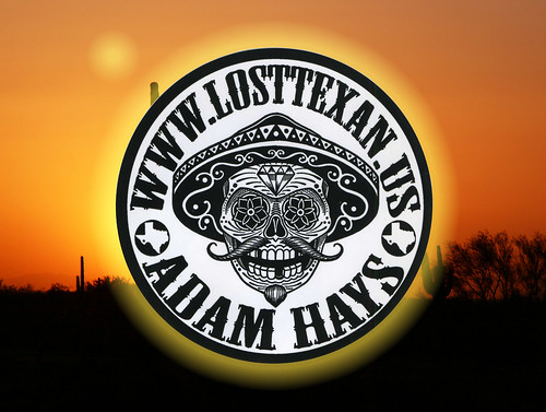 Adam Hays – Lost Texan – Tattoo Stickers