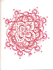 "16 Mandalas in 24 hours.  What's WRONG with me? (Stephanie ""Biffybeans"" Smith) Tags: color art classic water fountain pen ink watercolor sketch energy artist emotion random spirit journal going mandala cant safari doodle stop artists marker hours 24 16 pitt seem confusion probably lots fabriano mantra lamy castell faber mandalas unchecked i"