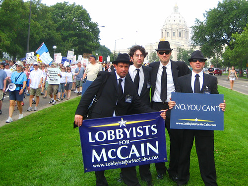 """No You Can't!"" Lobbyists for McCain"