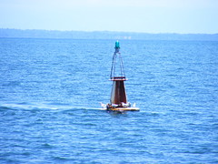 Sea Buoy at Livingston, Guatemala - DSCF2400