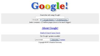 Google 10 anos