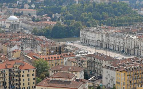 La place Vittorio Veneto (Turin) by dalbera, on Flickr