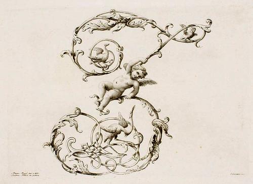 28-Letra Z- Poggi Mauro 1750 - Alfabeto di lettere iniziali