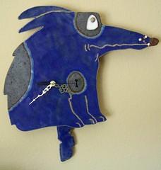 Dooley (animal.artist) Tags: dog art clock ceramic ceramics handmade wallart doggy clocks animalart dogart ceramicart dogclock whimsicalart handmadeart animalclock doggyclock ceramicwallart ceramicclock dogwallart whimsicalclock