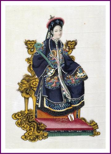 02-Esposa de un mandarin de primer rango