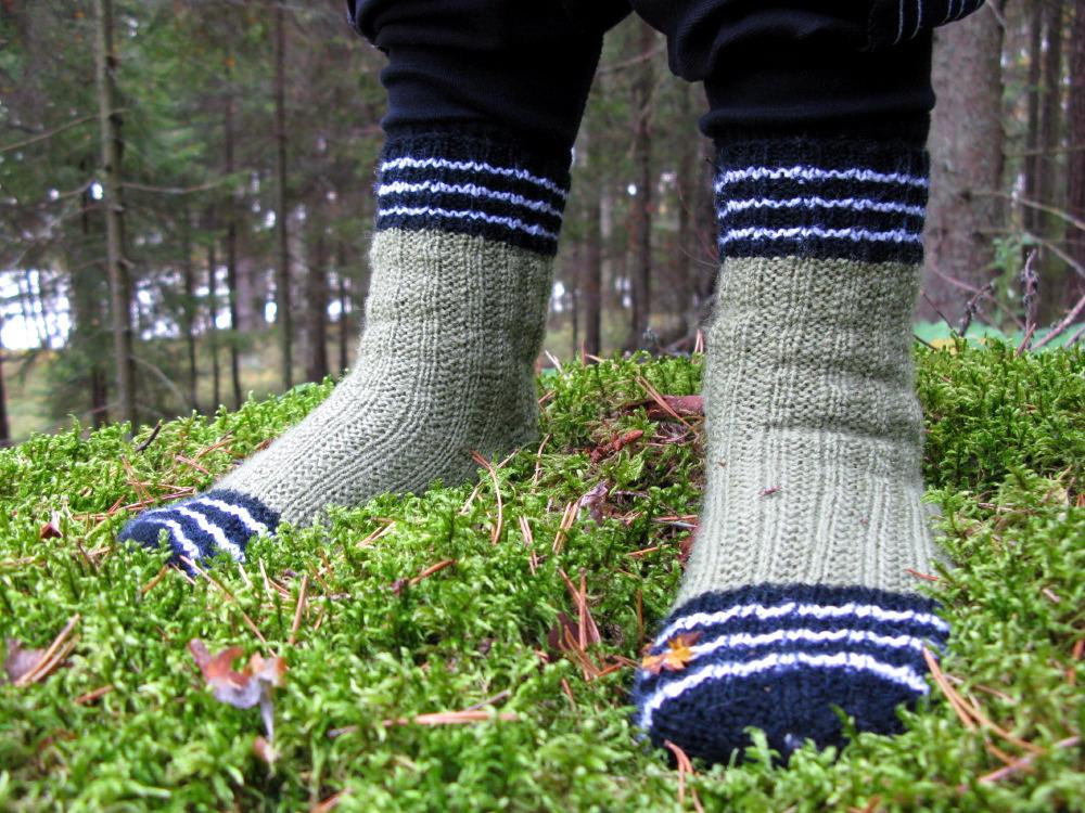 Onni's Garter Rib Socks