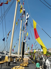 """SS Great Britain (Mum & Dad """"T"""") Tags: wood old england history water docks bristol boats wooden sailing barrels ships nuts rope flags engines bolts nautical cogs knots ssgreatbritain brunel bunks drydocks"""