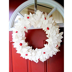 Berry Paper Wreath