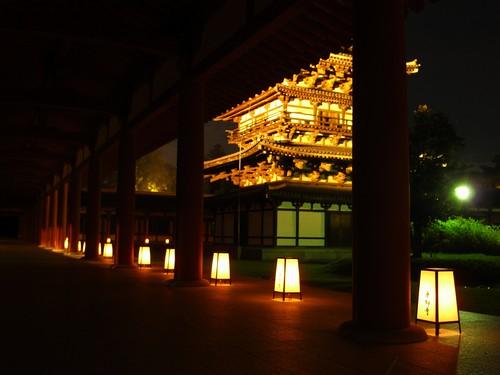 薬師寺(万燈会・夜)-15