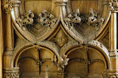 Kleve, Rheinland, Unterstadtskirche, stalls, detail (groenling) Tags: kleve cleves rheinland unte