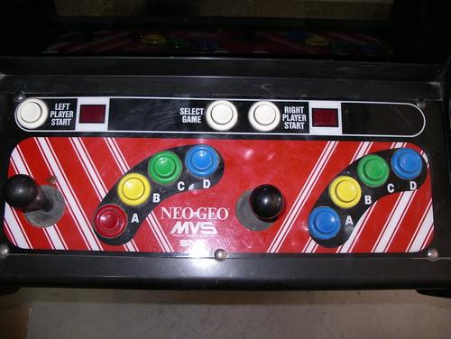 Neo MVS-2-13 control panel